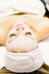 A facial at Prescott Medical Aesthetics